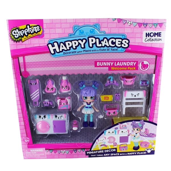 Shopkins Happy Places Welcome Pack: Bunny Laundry - multi