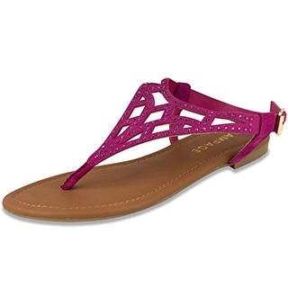 Rampage Womens Pattie Sandal