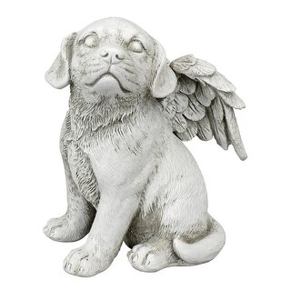Design Toscano Loving Friend, Memorial Pet Dog Statue: Medium
