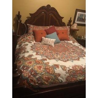 VCNY Home Tamara Medallion Comforter Set - Multi