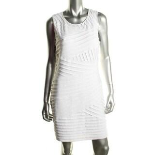 Calvin Klein Womens Matte Jersey Sleeveless Wear to Work Dress - 6