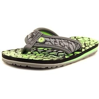 Jambu KD Crescent Open Toe Canvas Thong Sandal