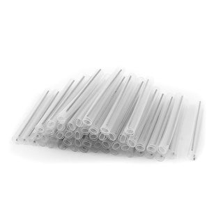 100 Pcs Protective Sleeve Fiber Optic Splicing Tube Dual-Needle 6cm Long
