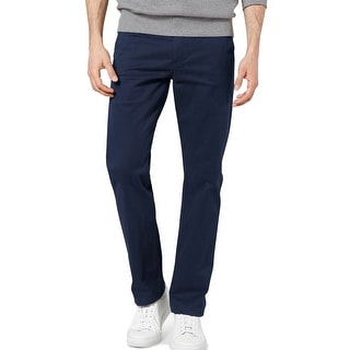 Link to Dockers Mens Pants Navy Blue Size 38x32 Alpha Khakis Slim Fit Stretch Similar Items in Big & Tall