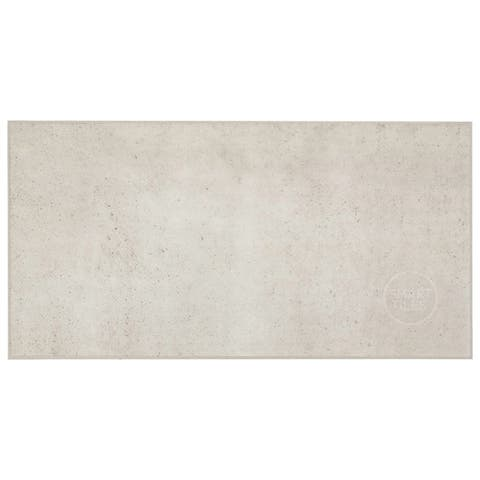 """Smart Tiles Self Adhesive Wall Tiles - Blok Beige - 2 Sheets of 22.56"""" x 11.58"""" Kitchen and Bathroom Stick on Tiles"""