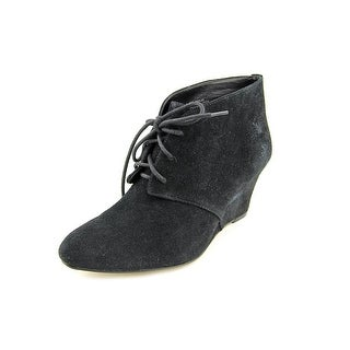 INC International Concepts Hadlee Pointed Toe Suede Bootie