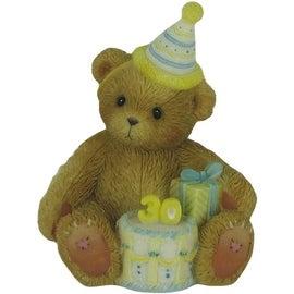 Enesco Cherished Teddies Happy 30th Birthday Figurine