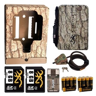 Browning Complete Accessory Kit for Extended Field Use of Any Trail/Game Camera - Camouflage