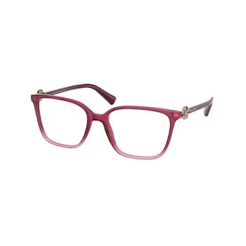 Bvlgari BV4197B 5477 51 Purple Gradient Pink Woman Rectangle Eyeglasses