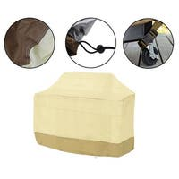"""BBQ Grill Cover Gas Barbecue Heavy Duty Waterproof For Home Patio Garden Storage Outdoor Weber  70"""" 72"""" - beige"""
