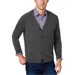 Tommy Hilfiger Men's Spencer 100% Cotton Cardigan Sweater