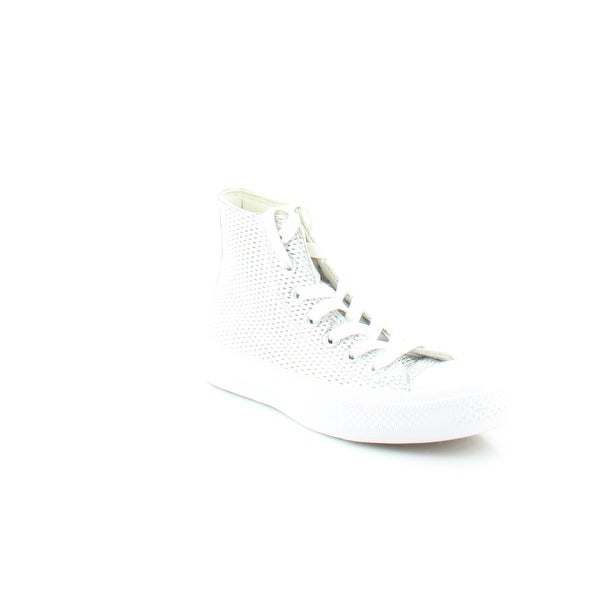 Converse CTAS II Hi Women's Athletic Silver / White - 5