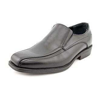 Alfani Ascher Men W Square Toe Synthetic Black Loafer