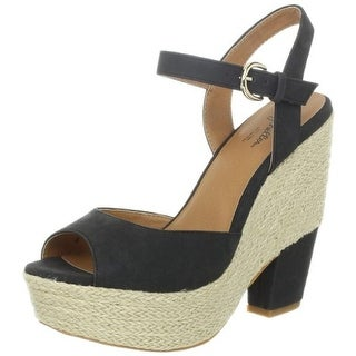 Seychelles Womens Current Espadrille Platforms Wedges - 9 medium (b,m)