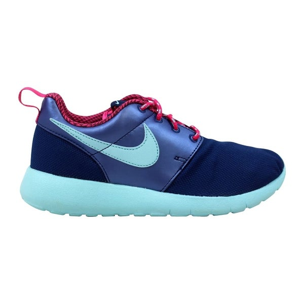 watch 5ecd1 e711c Shop Nike Roshe One GS Insignia Blue/Vivid Pink 599729-406 ...