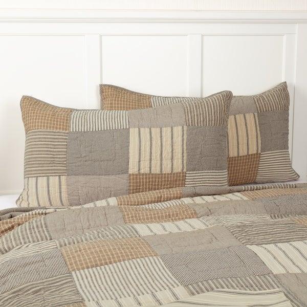 The Pillow Collection Quora Plaid Bedding Sham Orange Euro//26 x 26