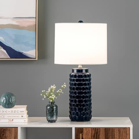 "nuLOOM Jordan 24"" Ceramic Table Lamp - 13""W x 13""D x 24""H"