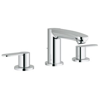 Grohe 20 209 A Eurostyle 1.2 GPM Cosmopolitan Widespread Bathroom Faucet with SilkMove Handles - Fre