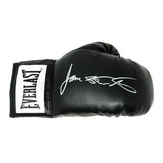 James Toney Everlast Black Boxing Glove WLights Out