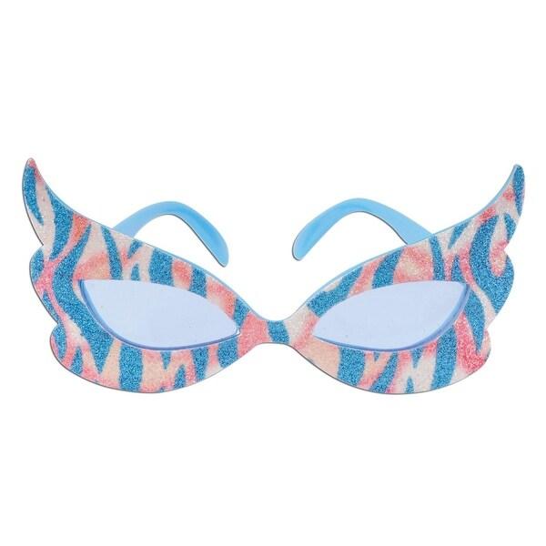 Pack of 6 Glittered Rock & Roll Diva Fanci-Frame Eyeglass Party ...