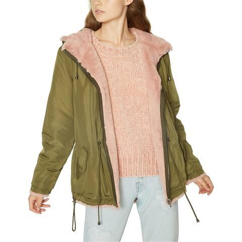 Sanctuary Clothing Womens Reversible Parka Coat