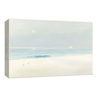 "PTM Images 9-153753  PTM Canvas Collection 8"" x 10"" - ""Serene Beach"" Giclee Beaches Art Print on Canvas"