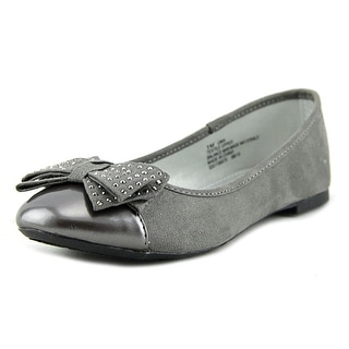 Rampage Girls Uma Round Toe Synthetic Flats