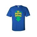 Men's Funny T-Shirt It's Magically Delicious Irish Plush St. Patrick Leprechun Humor - Thumbnail 3