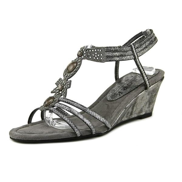 New York Transit Go Girl Pewter Sandals