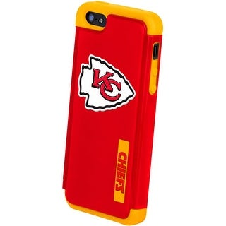 Kansas City Chiefs NFL Apple For iPhone 5 Dual Hybrid Case - Red