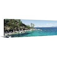 Premium Thick-Wrap Canvas entitled North Shore Lake Tahoe CA
