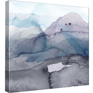 """PTM Images 9-98771  PTM Canvas Collection 12"""" x 12"""" - """"Water Landscape II"""" Giclee Abstract Art Print on Canvas"""