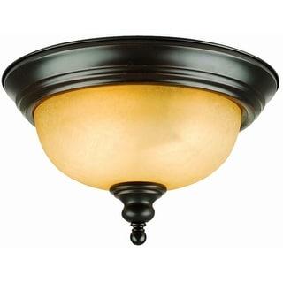 Design House 504399 2-Light Ceiling Mount Oil Rubbed Bronze  sc 1 st  Overstock.com & Buy Design House Flush Mount Lighting Online at Overstock.com | Our ...