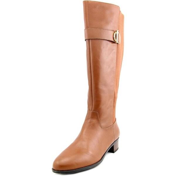 Isaac Mizrahi Senso Wide Calf Women Light Brown Boots