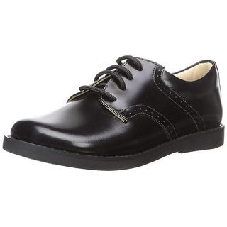 Kids Elephantito Boys Scholar Golfers Leather Lace Up Oxfords