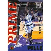 Anthony Pelle autographed Basketball Card (Fresno State) 1995