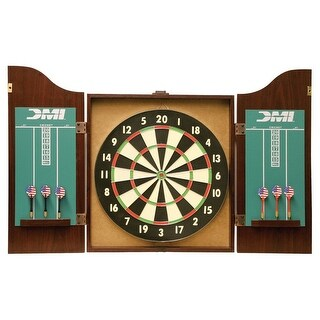 DMI Recreational Bristle Dartboard Rosewood Cabinet / CABSET2010
