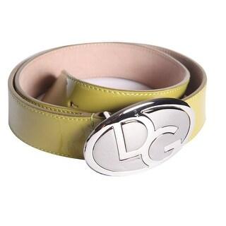 Dolce & Gabbana Women's Leather Buckle Belt