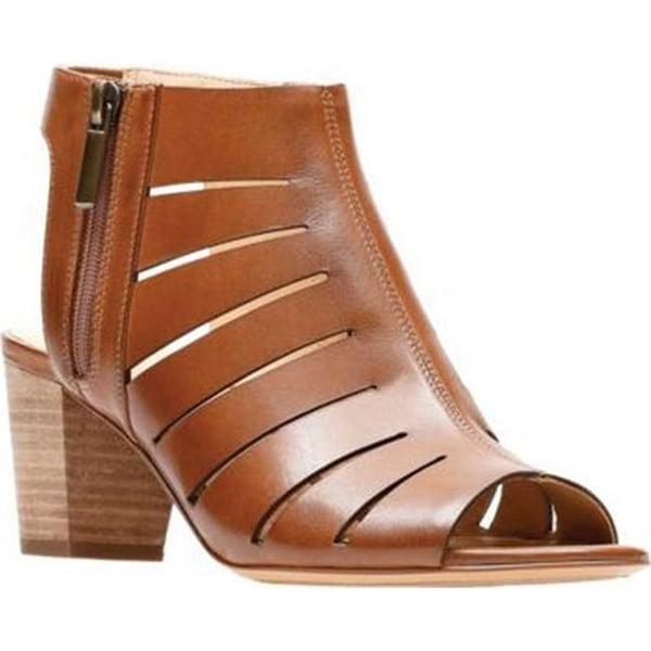 9467bbe21c13 Shop Clarks Women s Deloria Ivy Heeled Sandal Tan Leather - Free ...