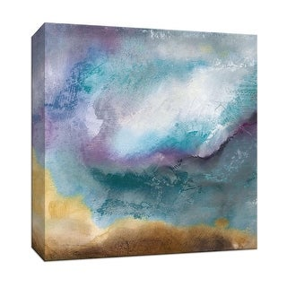 """PTM Images 9-147120  PTM Canvas Collection 12"""" x 12"""" - """"Moonstone II"""" Giclee Abstract Art Print on Canvas"""