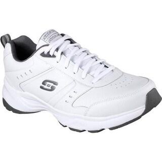 Skechers Men's Haniger Training Sneaker White/Charcoal