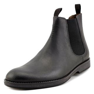 Clarks Narrative Hinman Chealsea Men Round Toe Leather Black Bootie|https://ak1.ostkcdn.com/images/products/is/images/direct/d403f445bf98337592879c50f5948738a648cf59/Clarks-Narrative-Hinman-Chealsea-Men-Round-Toe-Leather-Bootie.jpg?impolicy=medium