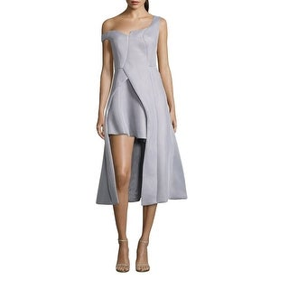Issue New York Off The Shoulder Hi-Lo Cocktail Dress - s