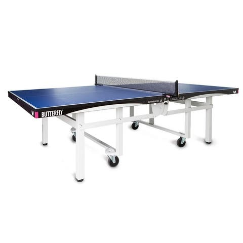 Butterfly Centrefold 25 Professional Blue Table Tennis Table