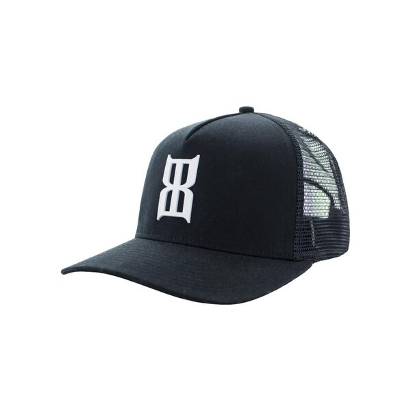 5eaadc37e3a Shop Bex Hat Adult Braille Snap Back Five Panel Baseball OS Black - Free  Shipping On Orders Over  45 - Overstock - 19549440