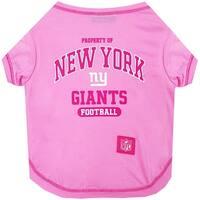 NFL New York Giants Pink Tee Shirt