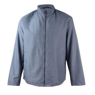 Alfani Men's Lightweight Bomber Jacket (New Grey, XL) - new grey
