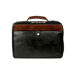 Scully Western Travel Bag Leather Garment Carry Handle Black 913