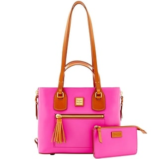 Dooney & Bourke Leather Morgan (Introduced by Dooney & Bourke at $358 in Mar 2016) - Fuchsia