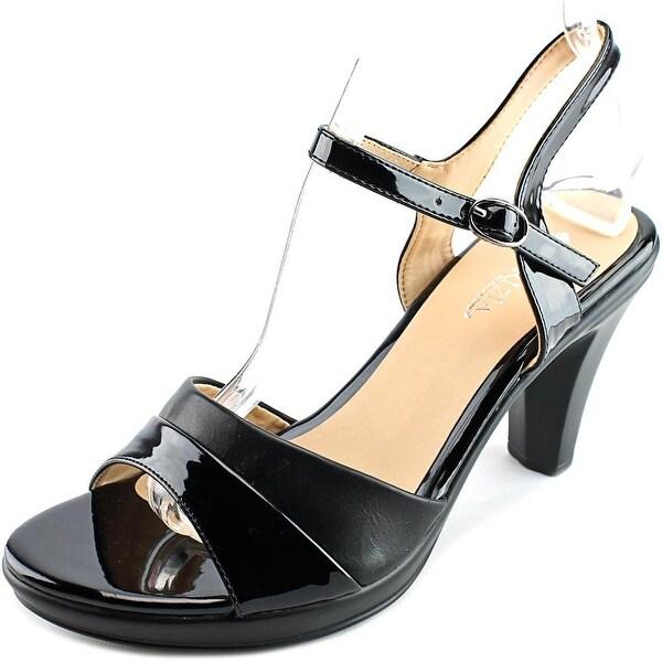 Patrizia By Spring Step Piera Women Black Sandals